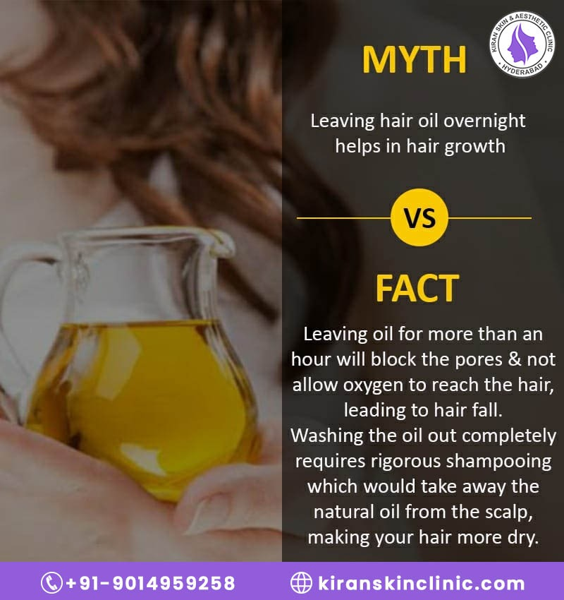 Oilling your hair